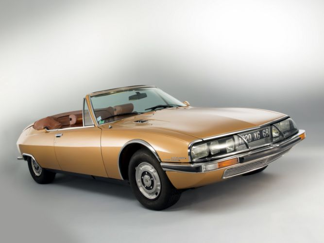 1975 Citroen S-M Mylord Cabriolet Chapron convertible classic wallpaper