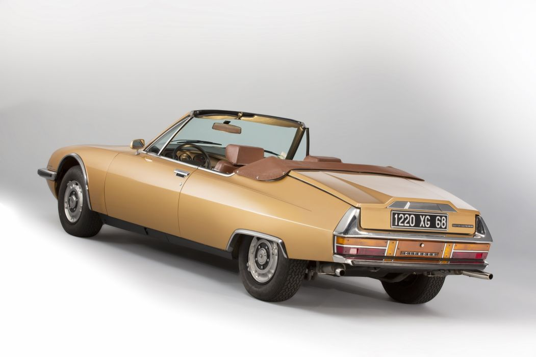 1975 Citroen S-M Mylord Cabriolet Chapron convertible classic wallpaper