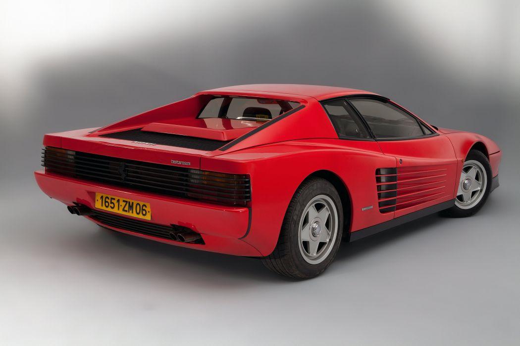 1986 Ferrari Testarossa supercar wallpaper