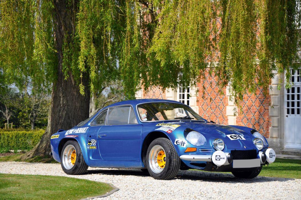 1971 Renault Alpine A110 1600S Group-4 lemans le-mans race racing d wallpaper