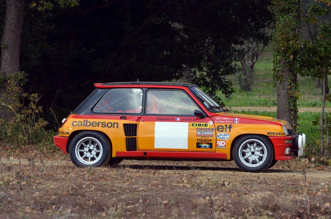 1980 Renault 5 Turbo Group-4 wrc race racing wallpaper