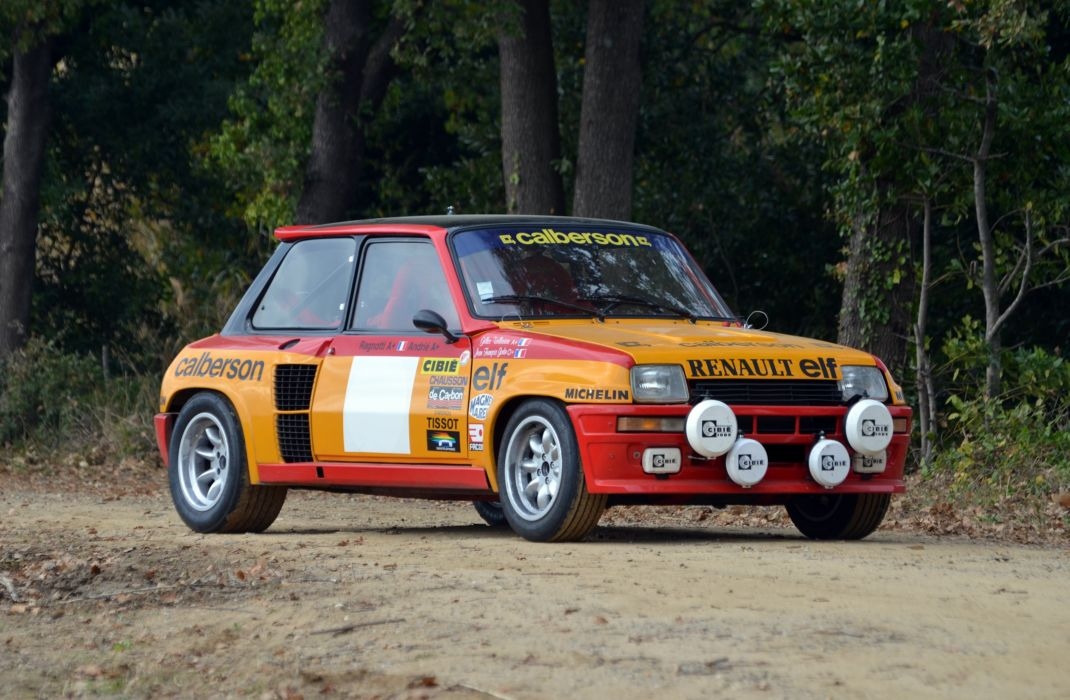 1980 Renault 5 Turbo Group-4 wrc race racing wallpaper