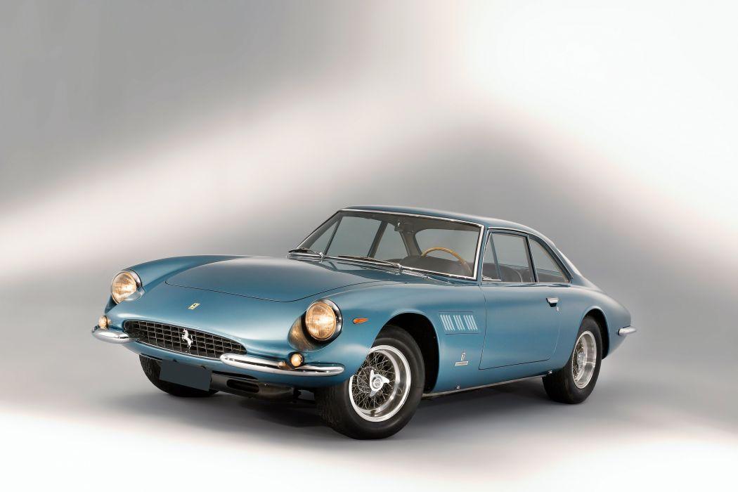 1964 Ferrari 500 Superfast Series-I supercar classic wallpaper