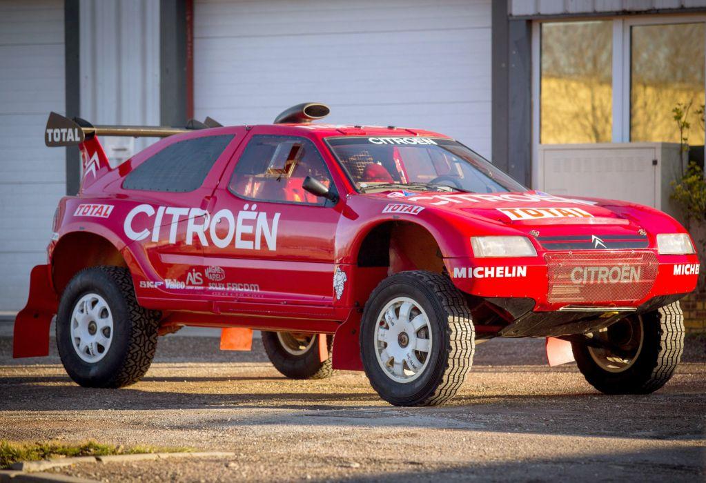 1994 Citroen Z-X Rally Raid dakar offroad race racing suv 4x4 awd wallpaper