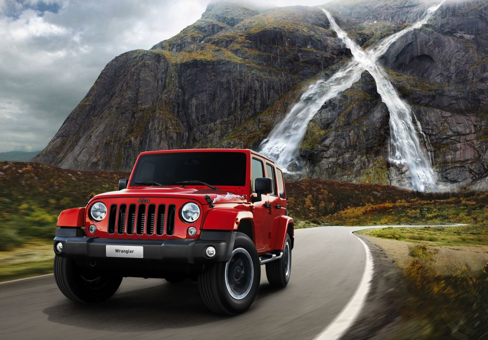 2015 Jeep Wrangler Unlimited X EU-spec 4x4 suv j-k wallpaper
