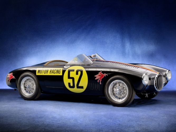 1953 OSCA MT4 2AD 1500 Morelli Spider race racing vintage retro wallpaper