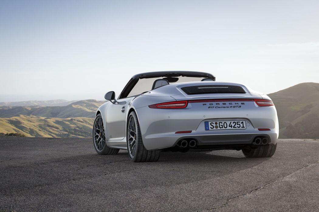 2015 Porsche 911 Carrera 4 GTS Cabriolet 991 wallpaper