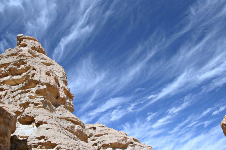 Algeria Tassili mountains desert wallpaper