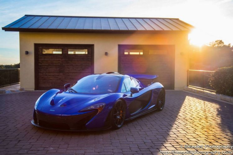 2014 McLaren p 1 cars supercars blue bleue wallpaper