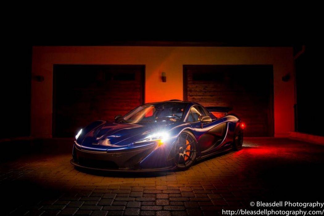 2014 McLaren p 1 cars supercars blue bleue wallpaper