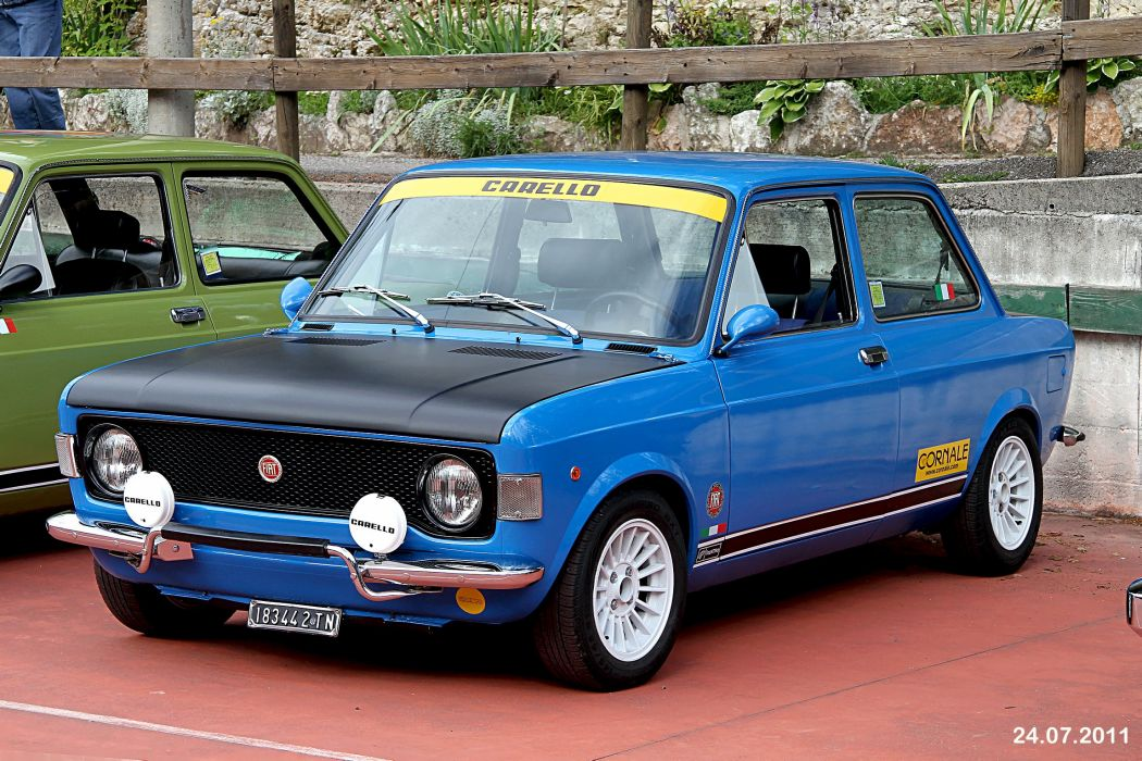 FIAT 128 rally cars rallycars classic italia wallpaper