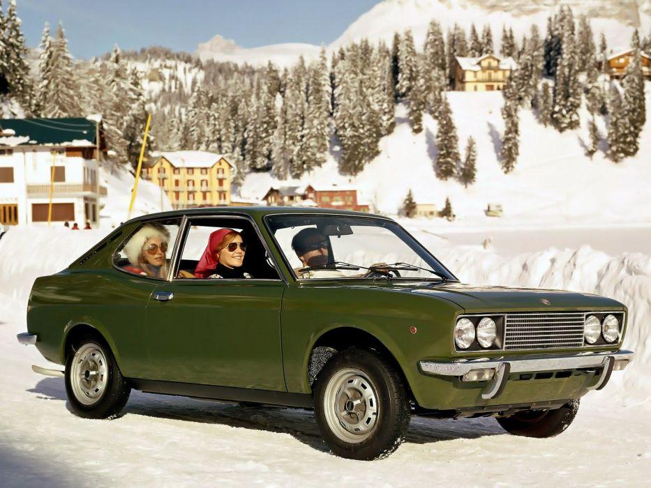 fiat 128 SPORT-L COUPE cars classic italia wallpaper