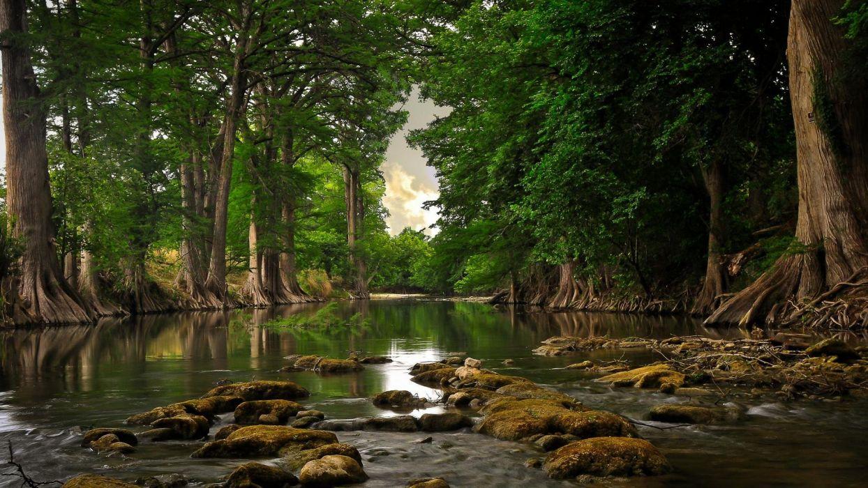 pinturas-naturaleza-paisajes-rio wallpaper