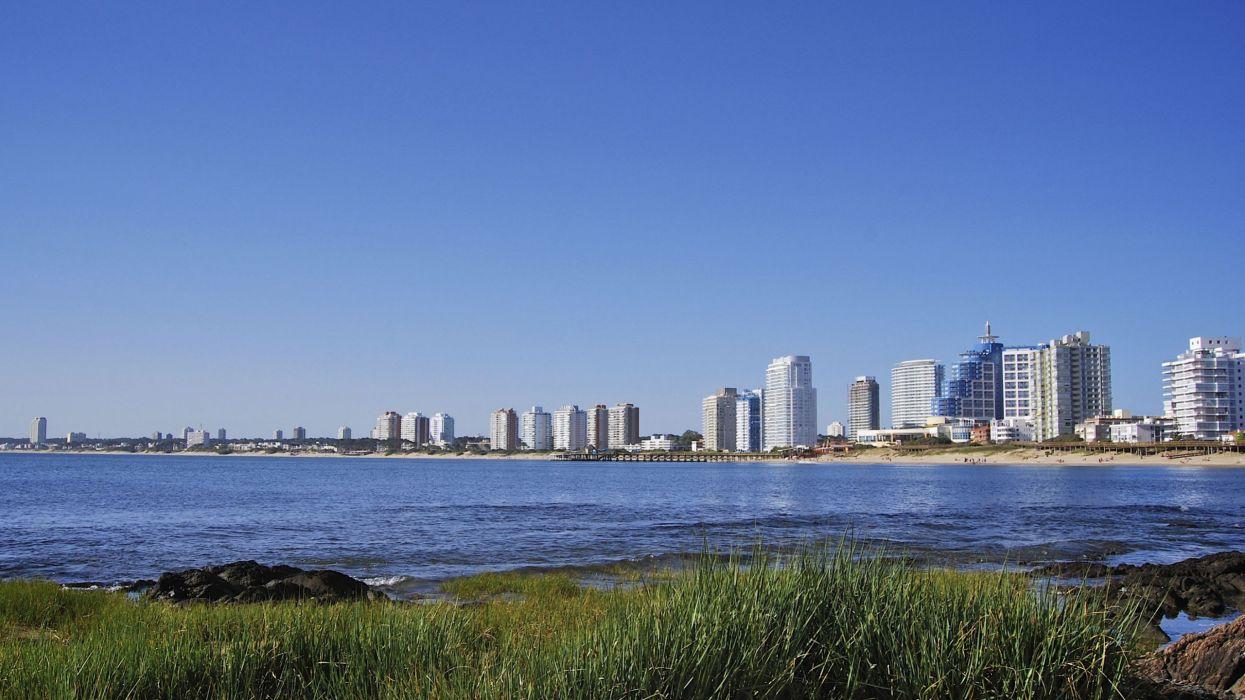 ciudad-montevideo-uruguay-oceano wallpaper