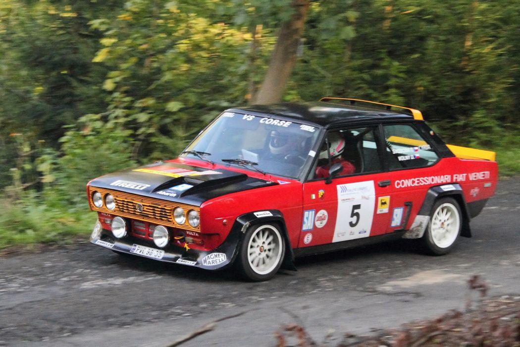 Fiat 131 Abarth cars rallycars classic italia wallpaper