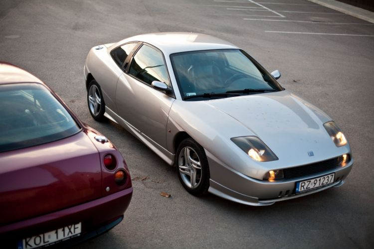 fiat coupe cars italia wallpaper