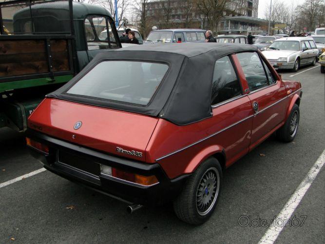 Fiat ritmo classic cars italia convertible wallpaper
