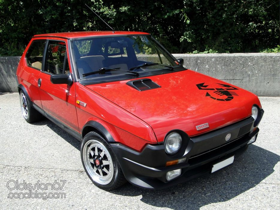Fiat ritmo classic cars italia abarth wallpaper