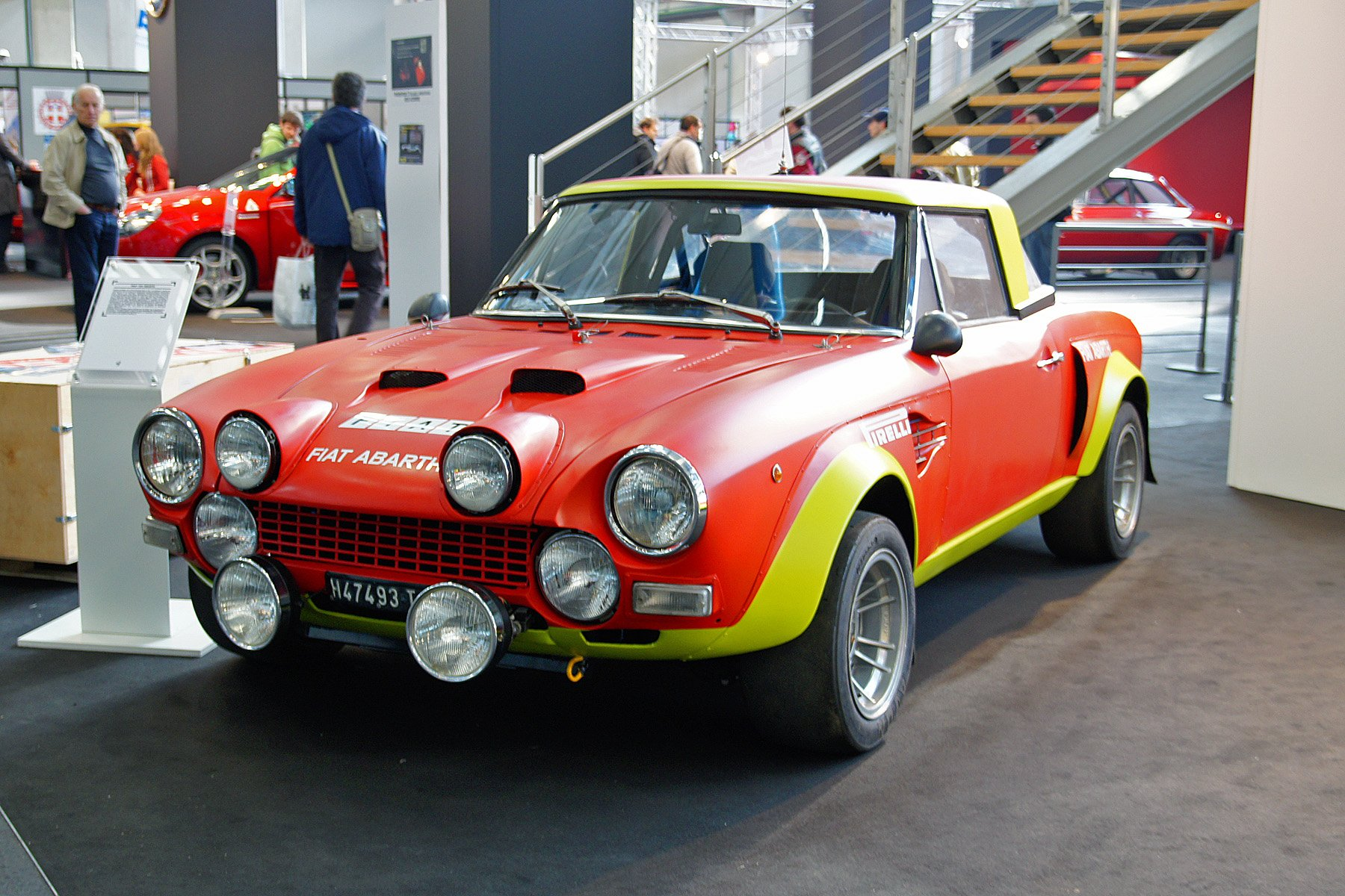 Fiat 124 Abarth Rally Cars Wallpaper 1800x1200 605853 Wallpaperup