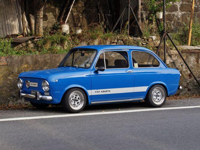 fiat abarth 1000 cars classic wallpaper