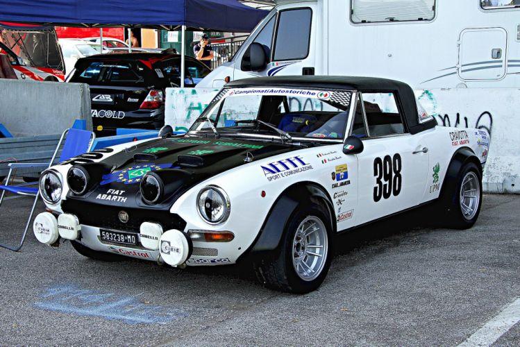 FIAT 124 Abarth Rally cars wallpaper