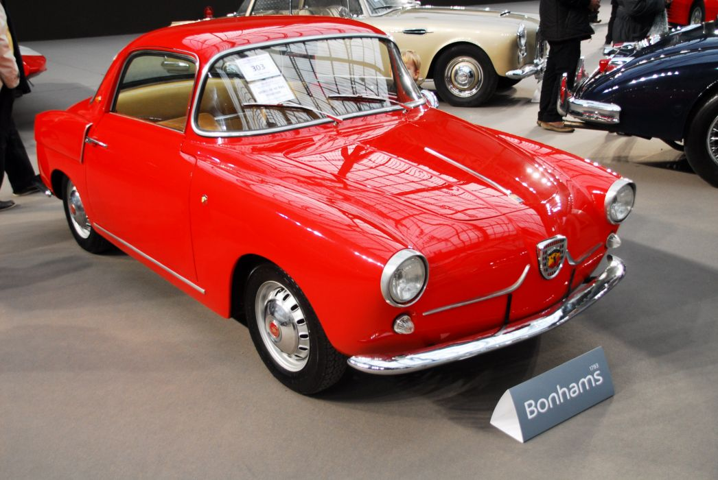 fiat abarth 750 coupe cars classic wallpaper