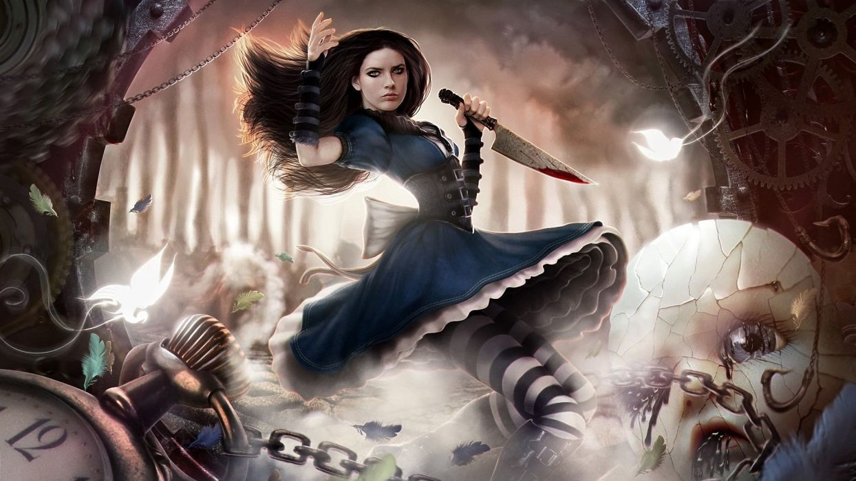 GAMES - Alice Madness Returns PC game wallpaper