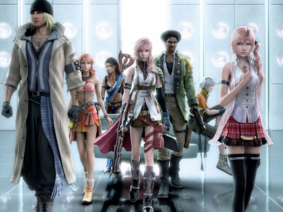 GAMES - Final Fantasy XIII 02 wallpaper