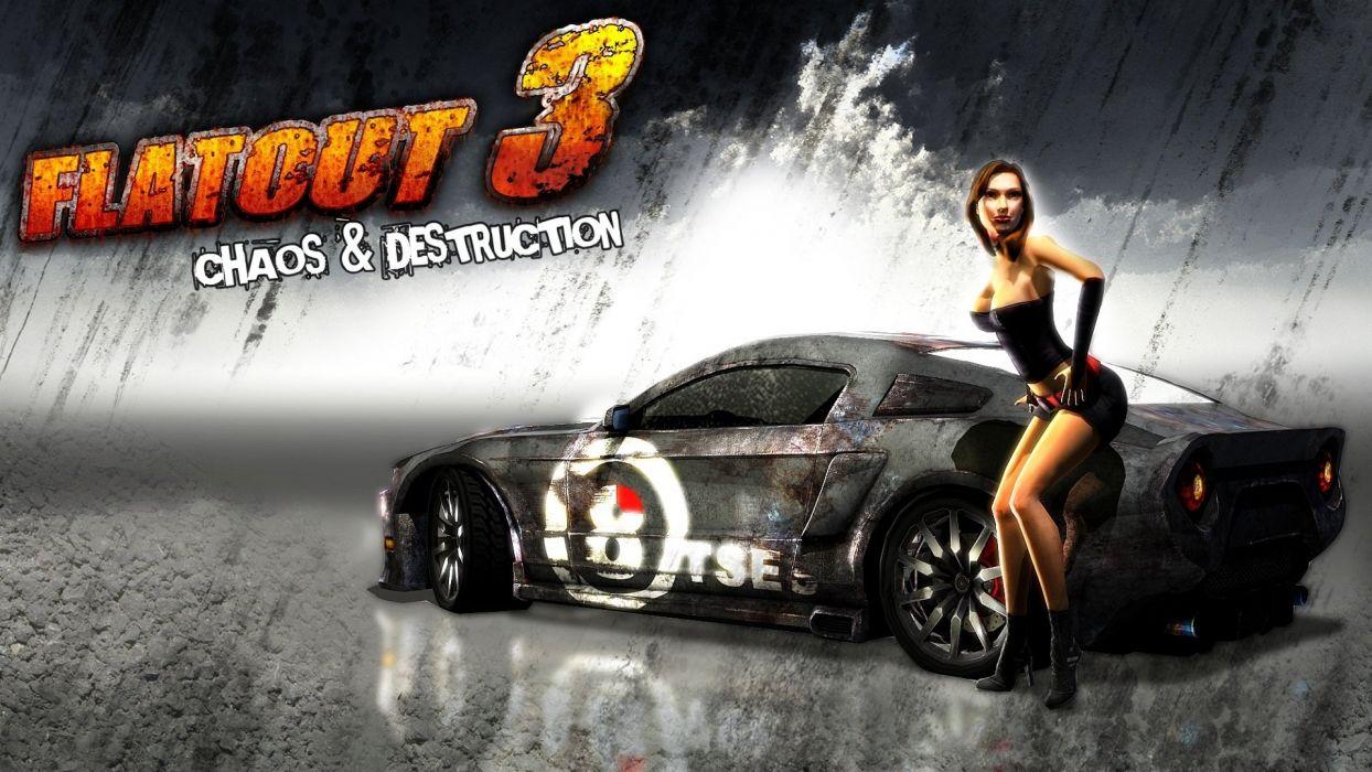 GAMES - FlatOut 3 Chaos Destruction wallpaper