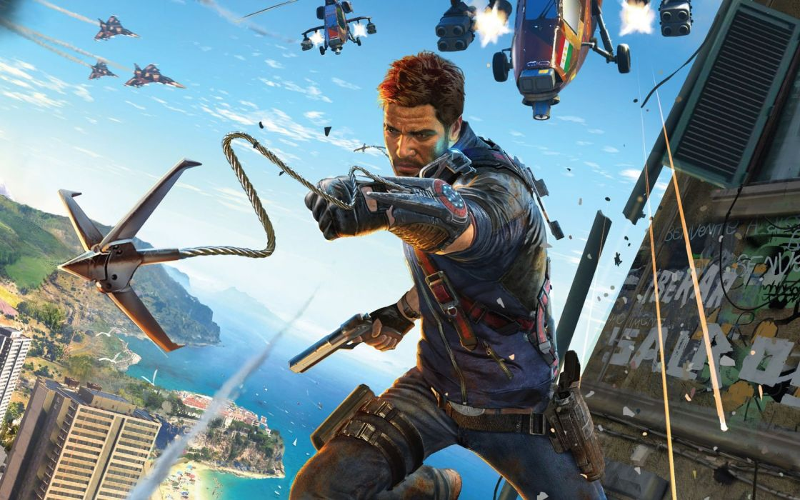 GAMES - Just Cause 3 wallpaper