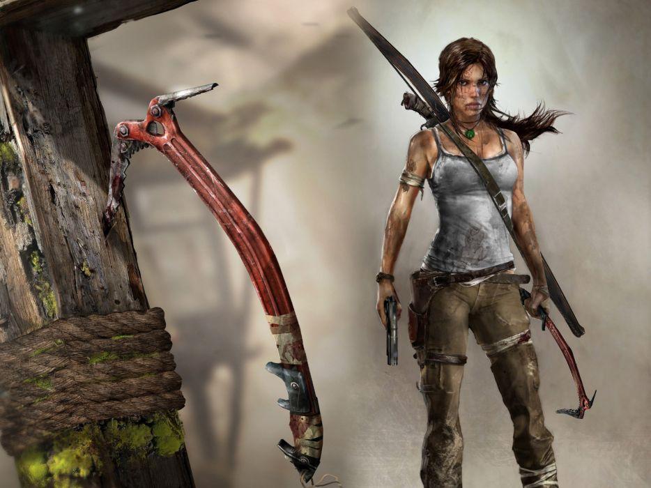 GAMES - Lara Croft Tomb Raider wallpaper