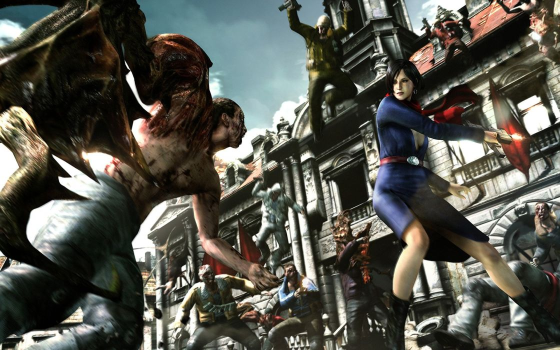 GAMES - Resident Evil 6 - game Aida  wallpaper