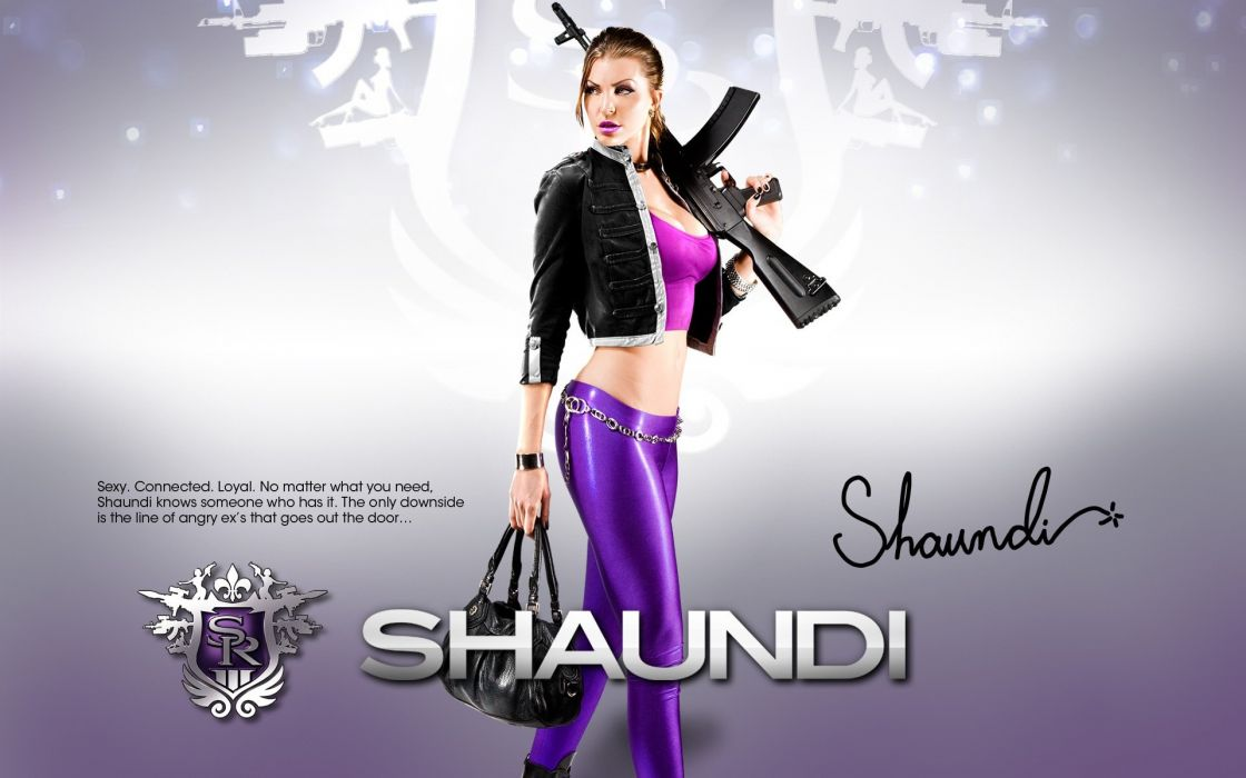 GAMES - saints girl Row The Third shaundi wallpaper