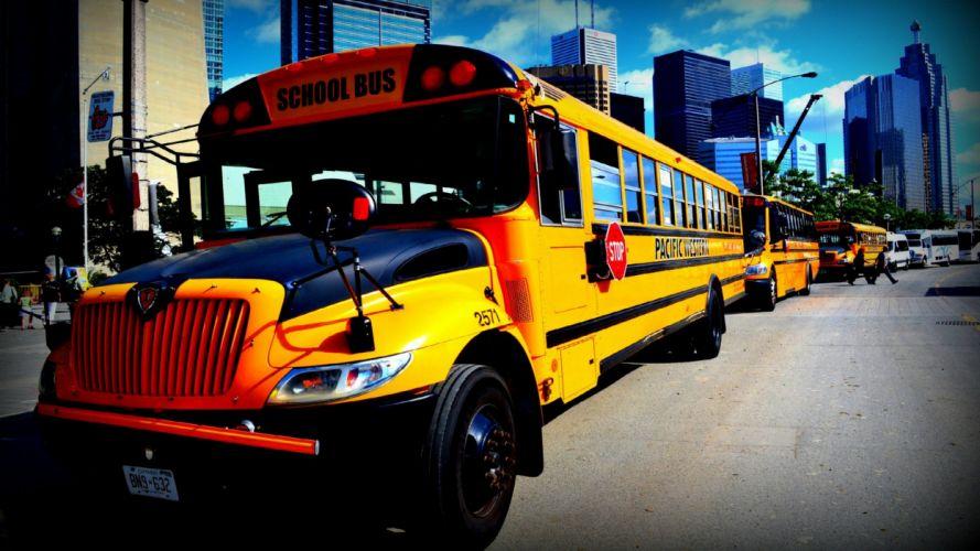 autobus-vehiculos-escolar wallpaper