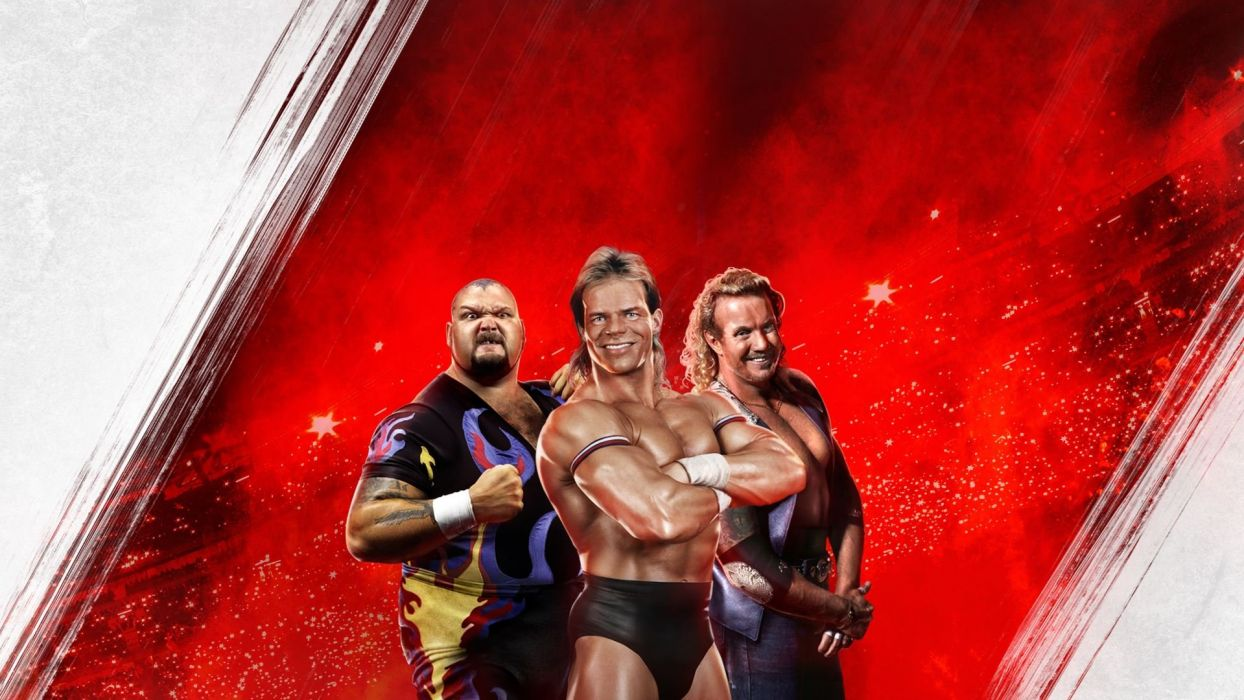 WWE 2K15 wrestling fighting action warrior wallpaper
