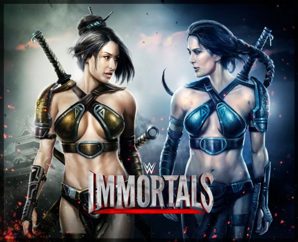 WWE IMMORTALS wrestling fighting action warrior wallpaper