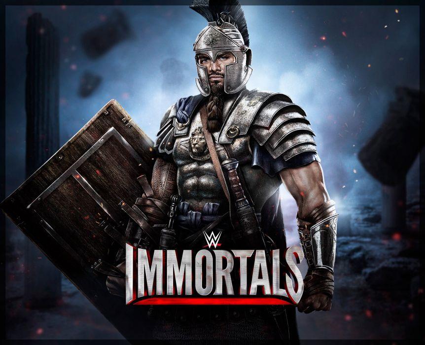 WWE IMMORTALS wrestling fighting action warrior wallpaper