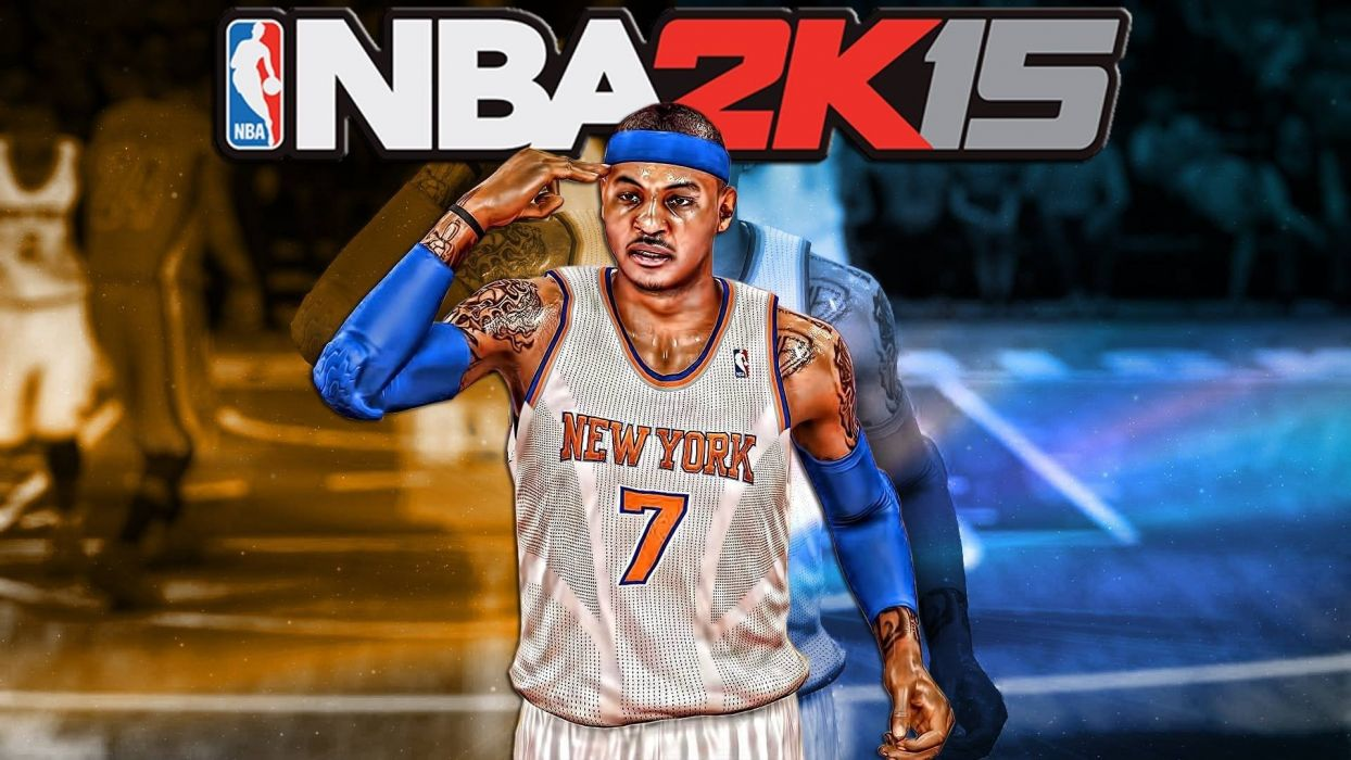 NBA 2K15 basketball sports action wallpaper