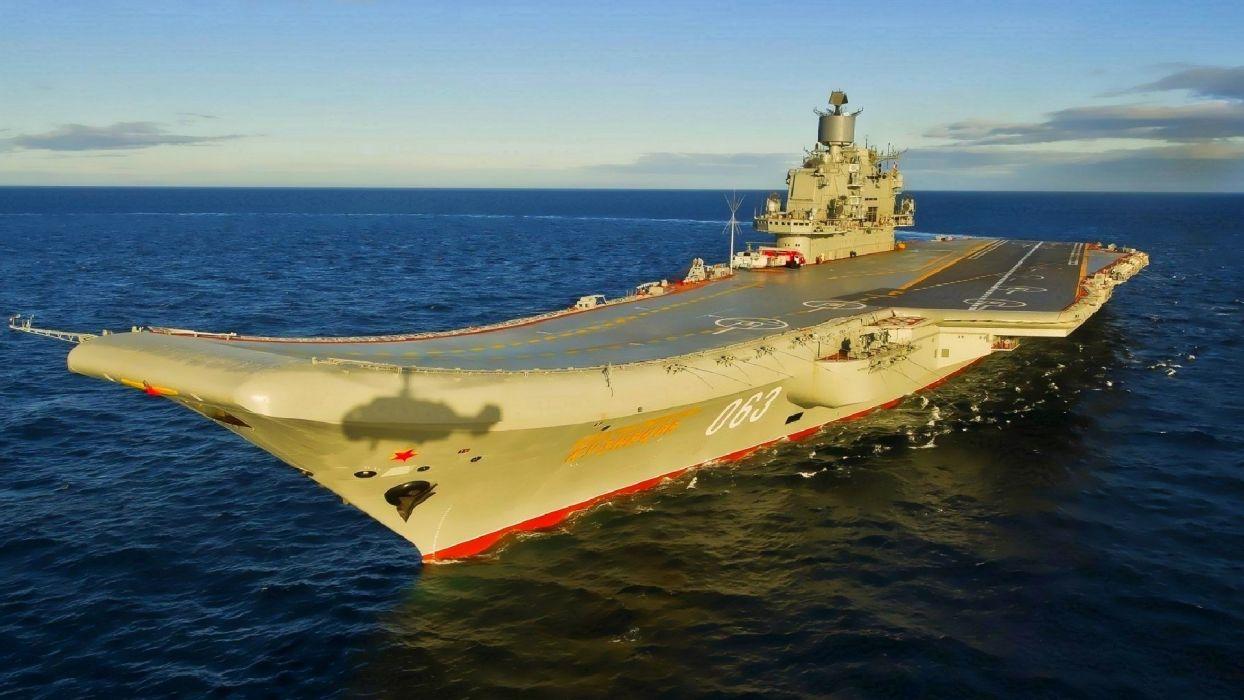 russian aircraft carrier wallpaper