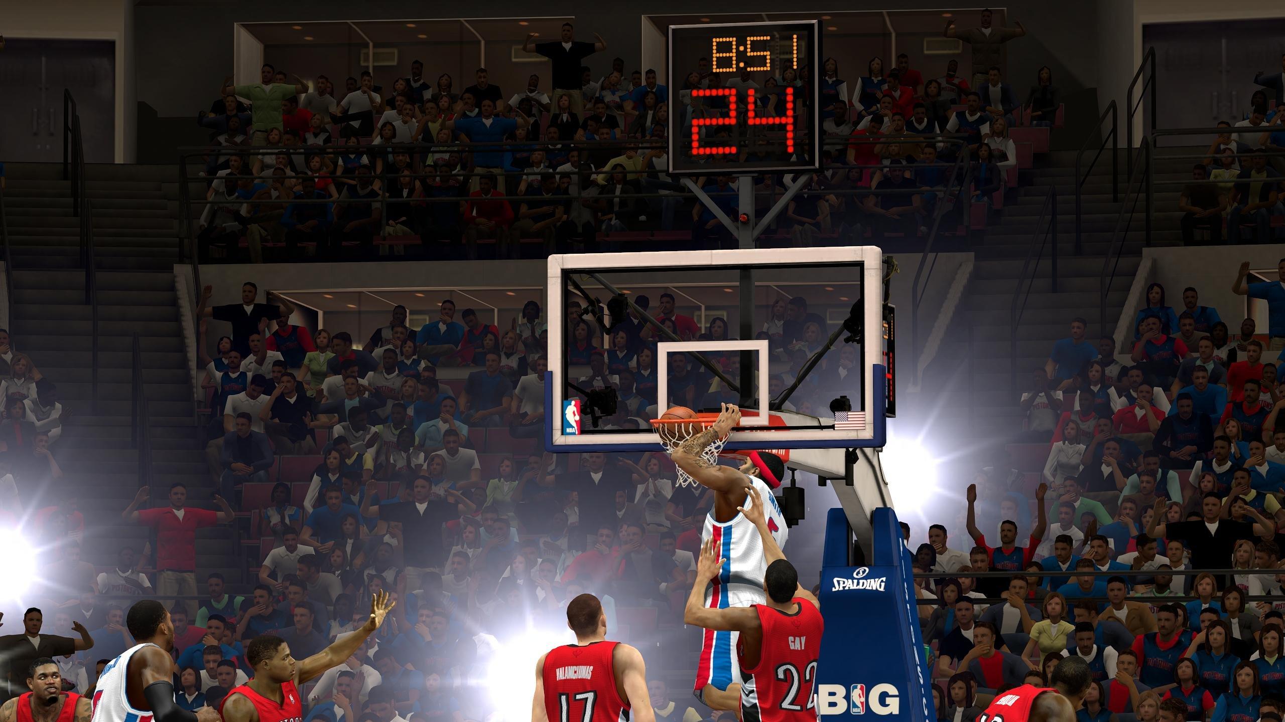 Nba 2k14 Basketball Sports Action Wallpaper 2560x1440 606371 Wallpaperup
