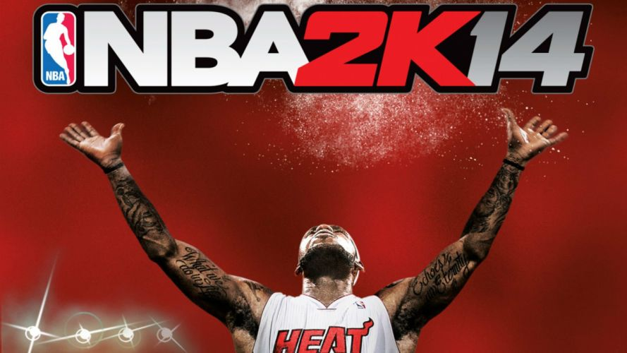 NBA 2K14 basketball sports action wallpaper