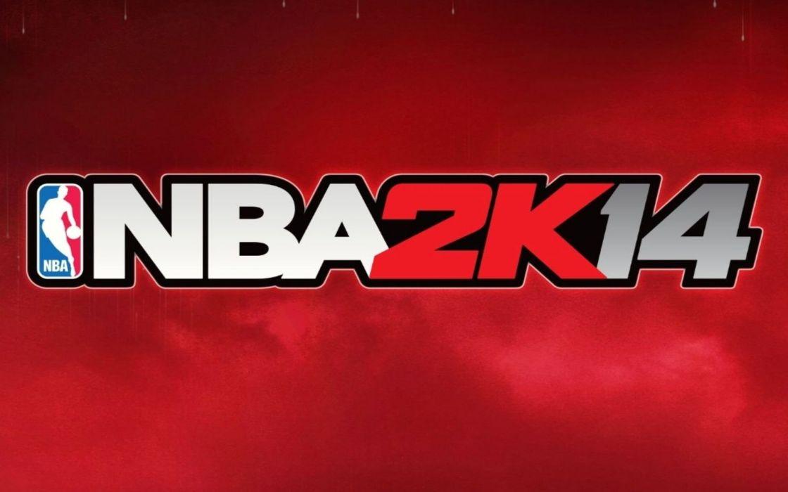 NBA 2K14 basketball sports action wallpaper