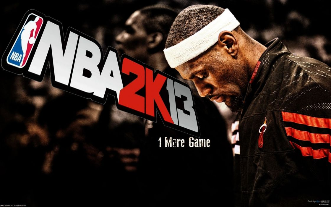 NBA 2K13 basketball sports action wallpaper