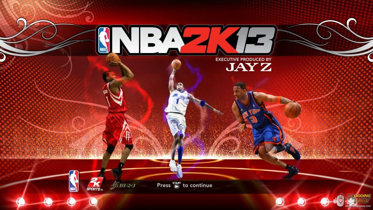 NBA 2K13 basketball sports action wallpaper