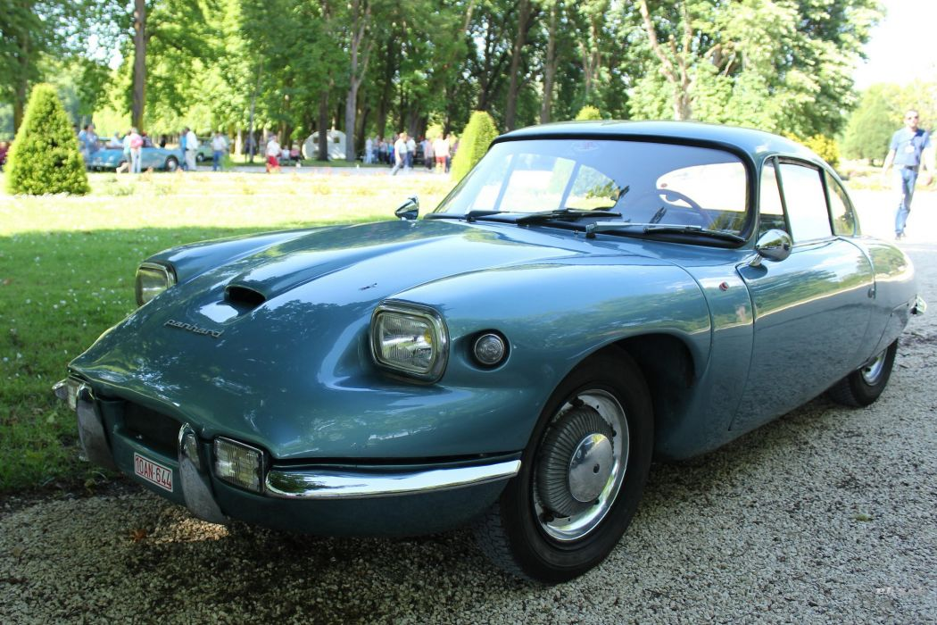 Panhard CD cars classic coupe french wallpaper