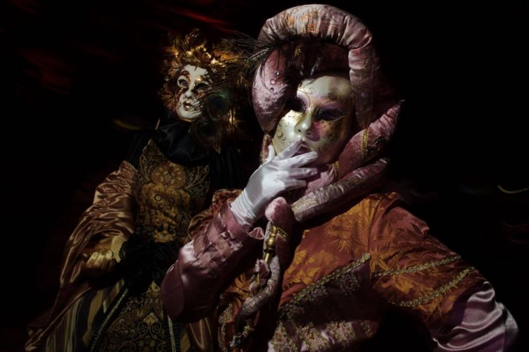 mask clown mood fantasy dark wallpaper