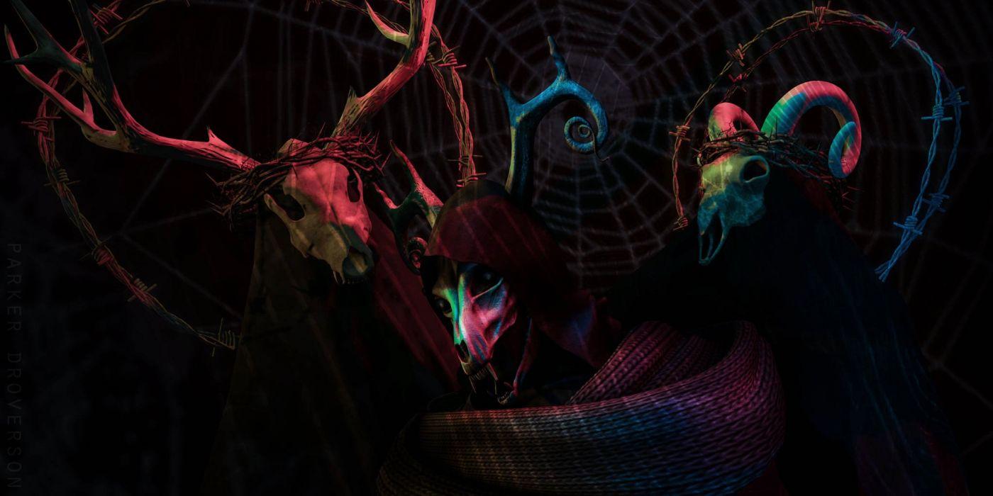 occult satanic demon evil satan wallpaper