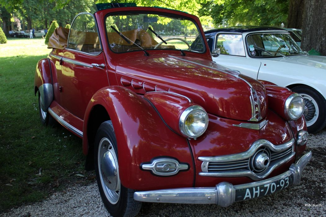 Panhard dyna x classic french convertible wallpaper