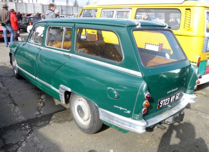 Panhard pl17 cars classic french wagon wallpaper
