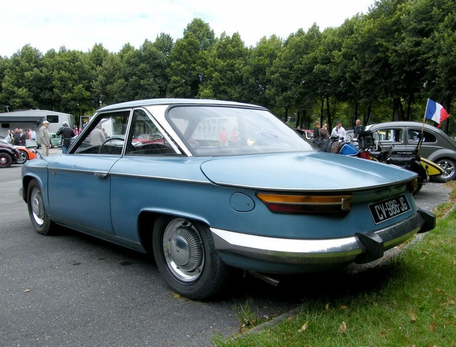 Panhard PL24 CT cars classic french wallpaper
